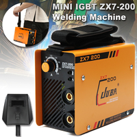 Portable MINI IGBT Full Copper Core DC Inverter 200A ARC MMA Welding Machine For Soldering And