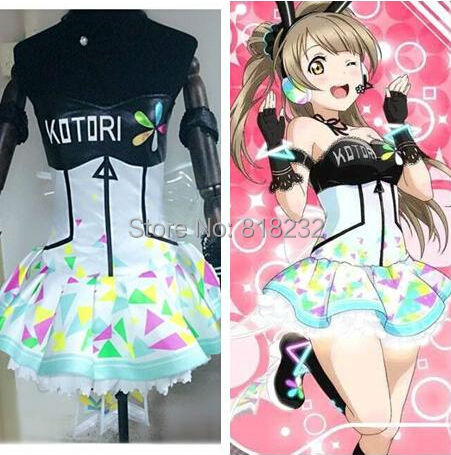Love Live École Idol Projet Jeux Cyber Minami Kotori Lumière Up Slip Robe Tee Robe Uniforme Outfit Anime Cosplay Costumes