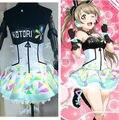 LoveLive! Love Live Games Awaken Minami Kotori Light Up Slip Dress Tee Dress Uniform Outfit Cosplay Costumes