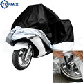 L XL  XXL XXXL Motorcycle Motor Bike Moped Scooter Cover Waterproof Rain UV Dust Prevention Cover Black+Silver Discount for 2