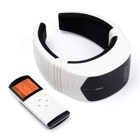 Electric Pulse Back and Neck Massager Physiotherapeutic Acupuncture Magnetic Therapy Health Care Relaxation
