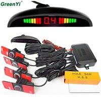 Original LED Display 13mm 6 Kinds Of Color Parking Sensor Monitoring The Car Reverse Radar System