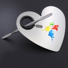 High Quality Palette Stainless Steel With Toner Bar Scrub Bag (Heart-shaped)