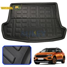 For VW T-Roc T ROC TRoc 2017 2018 2019 Upper Boot Liner Cargo Tray Trunk Liner Mat Floor Carpet Luggage Tray Car Accessories(China)