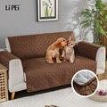 Сплошной цвет стеганые диван Чехлы для собаки животные детские противоскользящие диване кресло чехлов мебель кресло протектор 1/2/3 местный
