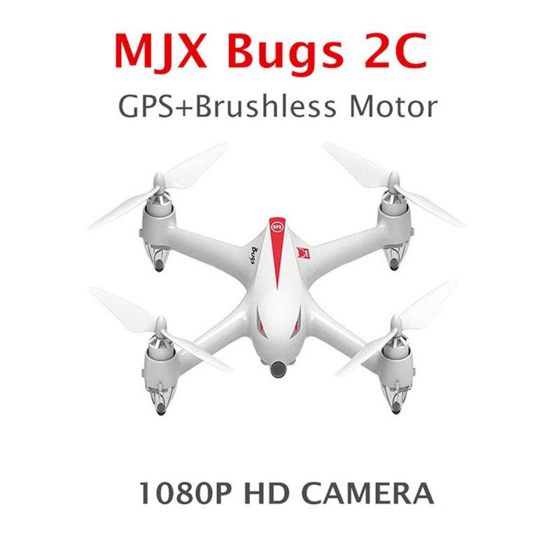 Profissional Drone с Камера и gps возвращении домой бесщеточные двигатели HD Drone 1080 P Камера MJX B2C ошибки 2 Quadcopters