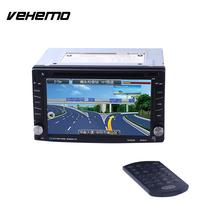 Vehemo Double Din High Definition Touch Screen Car MP5 Bluetooth Music Player Fashional