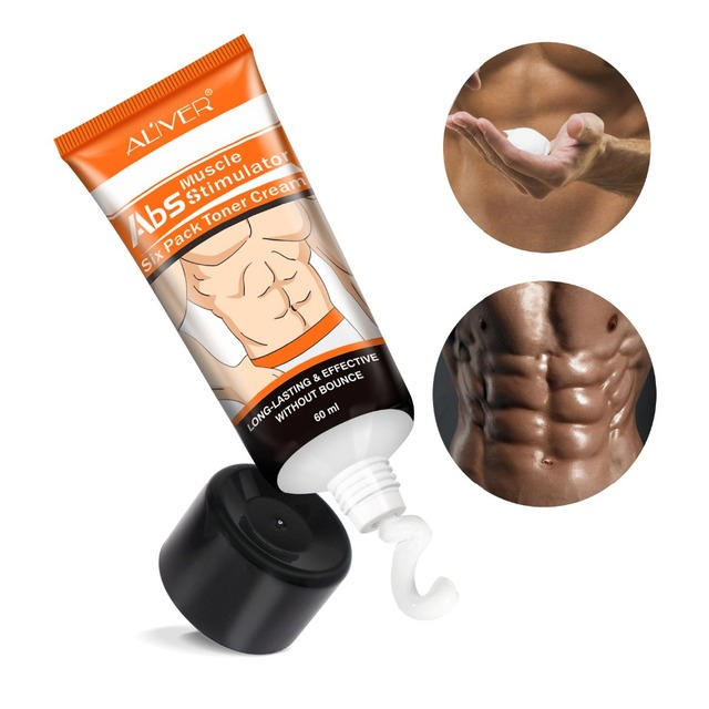 Abdominal Muscle Cream Hot Cream Anti-Cellulite Slimming Creams Belly Muscle Tightening Cream Fat Burner Weight Loss Treatment 1