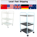 3 SHELF LARGE SALON TROLLEY CART STORAGE DENTIST WAX TREATMENT SPA HOME FURNIT