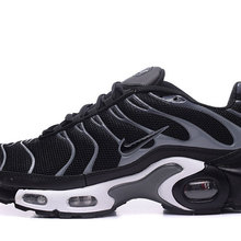8af95df4e2 NIKE Nike Air Max Plus Shock-Absorbing Breathable Men's Running Shoes TN  2019 Black