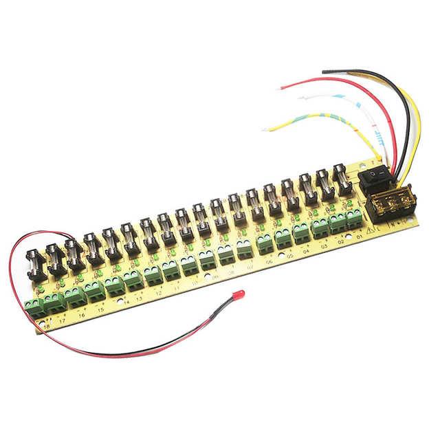 Fabulous Online Shop 12V Dc Power Distribution 18 Ch Pcb Board Terminal Block Wiring Cloud Xeiraioscosaoduqqnet