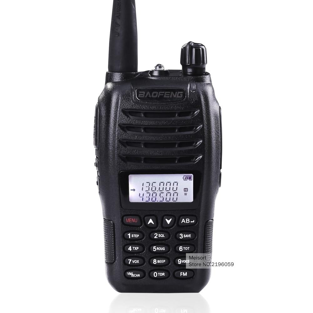 imágenes para Baofeng uv-b6 doble banda vhf uhf 5 w 99 canales de fm pmr walkie-talkie frecuencia portátil jamón de radio comunicador transceptor de hf