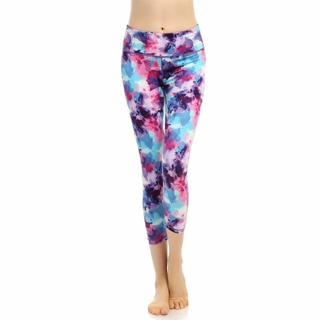 da319b666e301 Women Leggings High Waist Elastic Leggings Patchwork Women yoga Pants Femme  Sexy Warm Workout Leggings Plus Size Transparent
