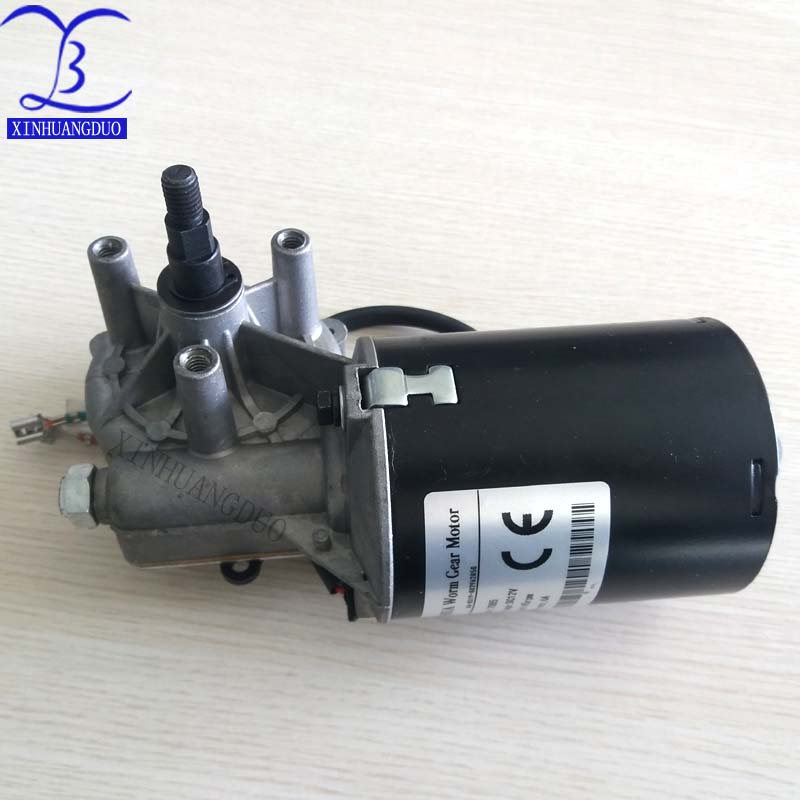 12V 6RPM No-load Speed High Torque Electric Square Gearbox Geared Motor
