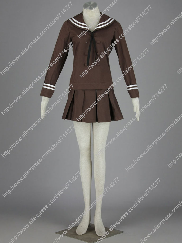 Free Shipping Custom Cheap Tamaki Girl Cosplay Costume School Uniform -6648