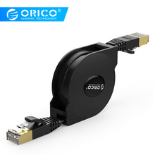 ORICO Flat Ethernet Cable Cat 6 RJ45 LAN Internet Cord for Router PC Laptop TV box Retractable Patch Cat6