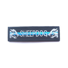 Sheepdog 1x3.75 inch Military Police Morale Patch Multiple Colors Tactical Patch