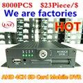AHD Автомобильный видеорегистратор  720P MDVR высокой четкости мониторинга транспортного средства  4 устройство записи на карты SD завод