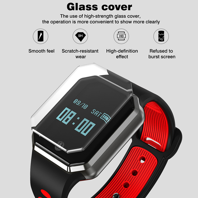 Smart Fitness bracelet Heart Rate blood pressure Activity tracker wristband watches