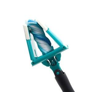 Вращающаяся Швабра 360 Вращающаяся швабра с распылителем воды Швабра для мытья пола легкое ведро пыль Волшебная швабра с микрофиброй электр...