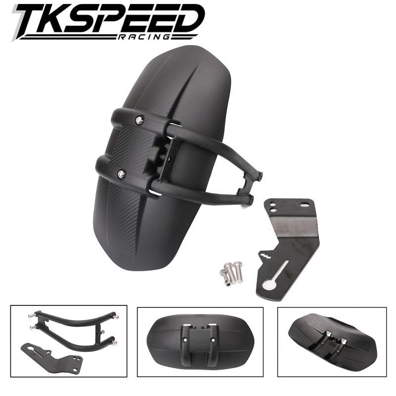 Free Shipping Motorcycle Accessories Rear Fender Bracket Motorbike Mudguard For Honda NC700 NC750X NC750D CB1300 CB400