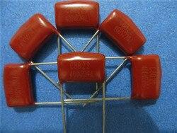 CBB21 CBB22 металлизированная пленка конденсатор 0,47 мкФ 474J 400V, бесплатная доставка, 100 шт.