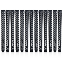 New 13PCS/Set Champkey X-Grip Black Rubber Golf Grips Standard and Midsize- Super Stability Club Free Shipping
