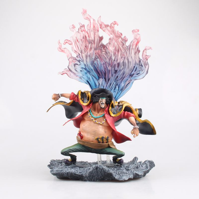 Free Shipping 10 Anime One Piece P.O.P DX Blackbeard Marshall D Teach Boxed 26cm PVC Action Figure Collection Model Doll Toy