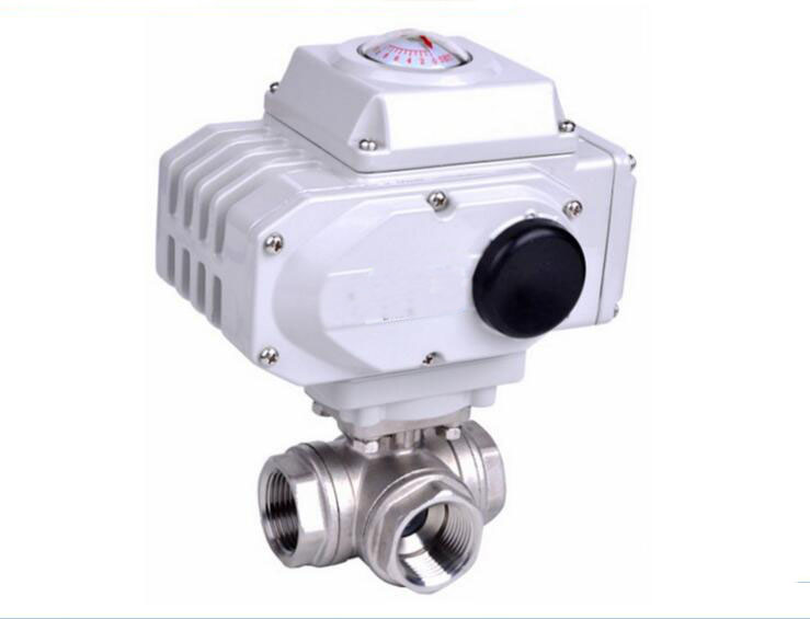 2 inch Pneumatic stainless steel Electric Type Actuator Automatic Electrical Water Float Ball Valve prorab 1238 k2