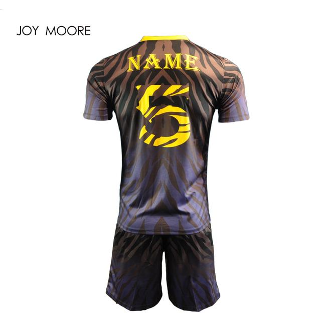 Men Soccer Jerseys Set Youth Kids Survetement Football Kits Boys Child Futbol