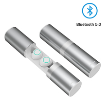 T6 TWS wireless earphone Bluetooth headset true earbuds with music waterproof for phone