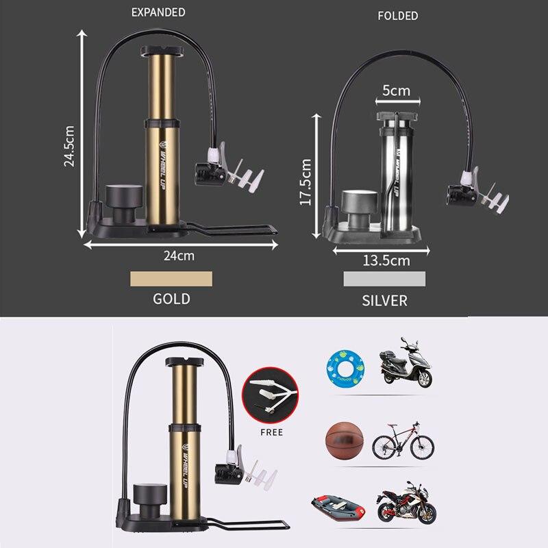 RAD UP Fahrradpumpe Manometer Tragbare Ultraleichte Pumpe - Radfahren - Foto 5