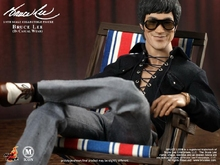 1/6 scale figure doll Kung fu star Bruce Lee In Casual Wear 12″ Action figure doll Collectible Figure Plastic model toy