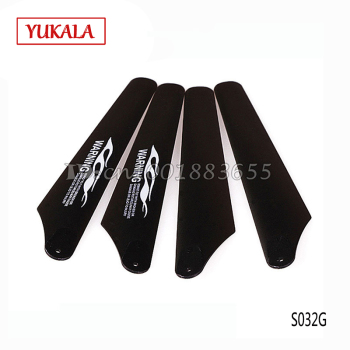 Free shipping Wholesale/SYMA S032G spare parts Main blades S032G-06 for S032G RC Helicopter from origin factory