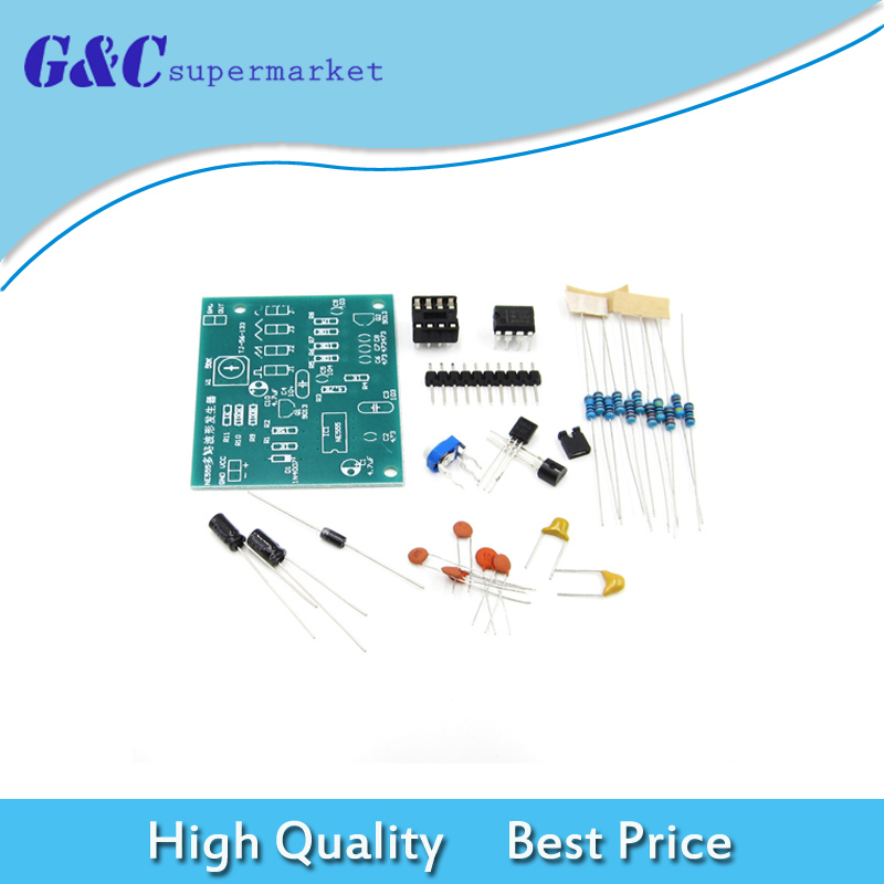 Square Wave And Sine Wave Generator Circuit Sensorcircuit Circuit