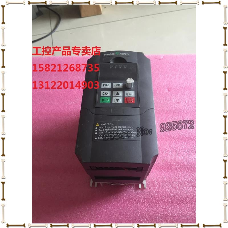 Was economical and inverter TVFD9 single-phase 220 v 1.5 KW - 2015 - g real figure had been test package in the inverter e vfd022e21a photo 2 2 kw 220 v has been test package is good