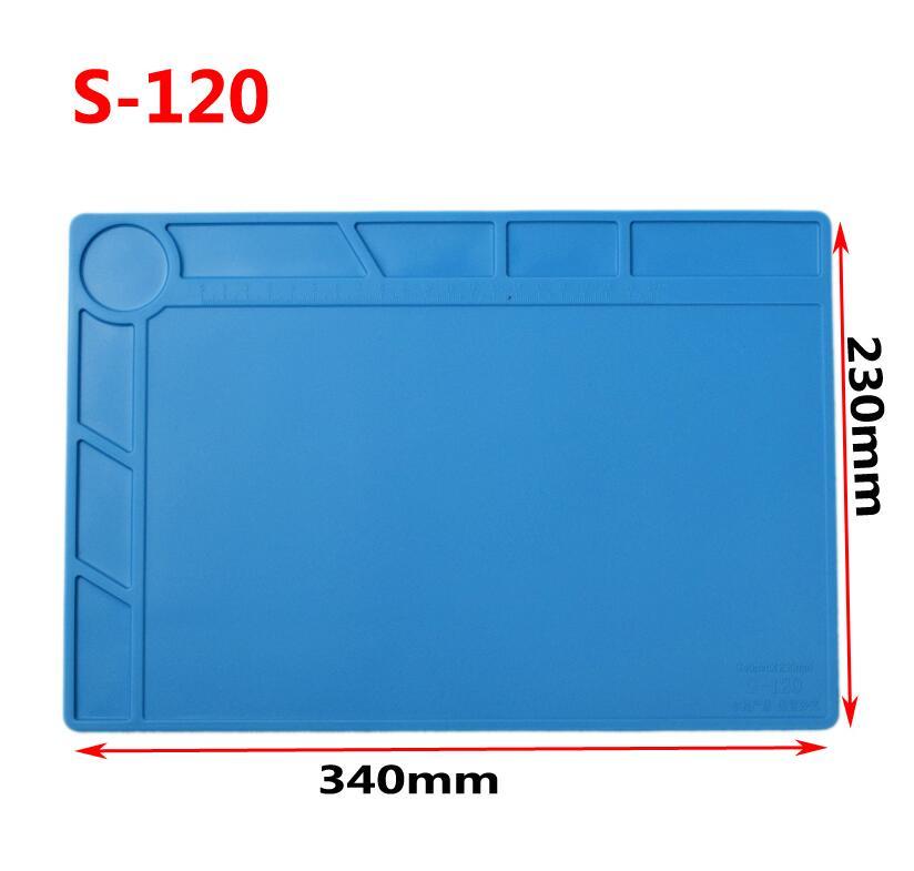 Mat Silicone Heat-resistant  Heat Gun BGA Soldering Station Insulation Pad Repair Tools Maintenance Platform Desk Mat