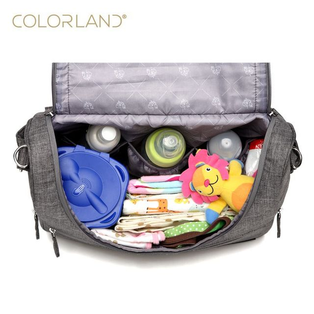 Large Diaper Baby Messenger Bag