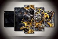 Unframed HD Printed Robot Arms Canvas Painting Waterproof Modular Pictures Home Decor Wall Pictures For Living