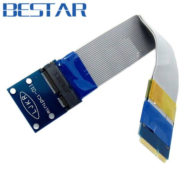 Flexible Mini PCI Express PCI-e Mini pcie pci-exress  Card Extender 52pin Male to Female Extension FFC Cable pci контроллеры