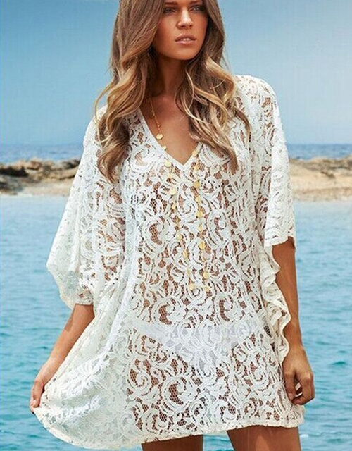 e423c7dfeb00 2016 Summer Beach Cover Up Bikini Bathing Suit Cover Ups BeachWear Tassel  irregular Swimsuit Coverup Dress
