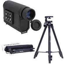 6X32 Noc Wizje Monokularowy Wielofunkcyjne Zakres Dalmierz Laserowy Podczerwieni Urządzenie Polowania Scout Widok Digital Camera Tripod