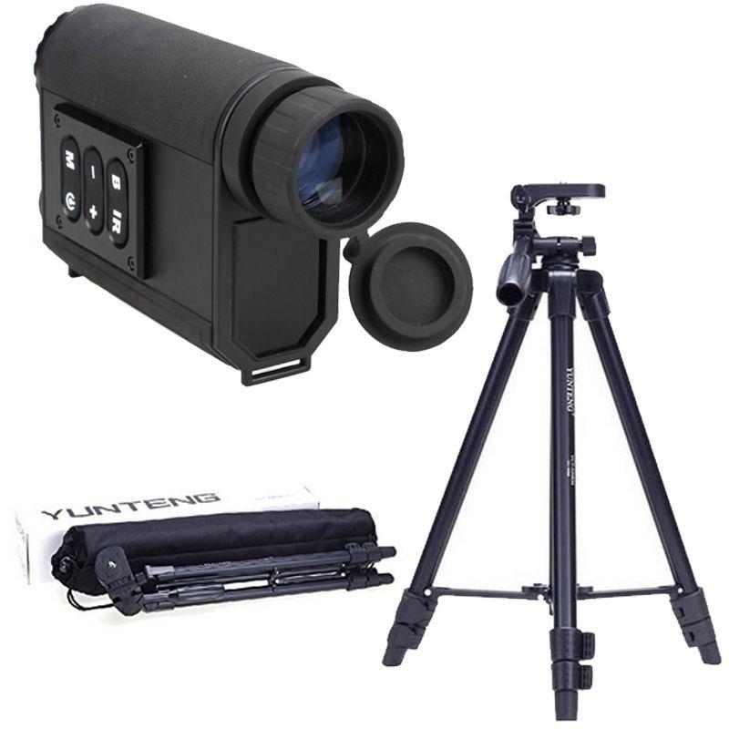 Mutifuctional 6X32 Night Visions Infrared IR Monocular Scope Scout W Laser Ranger Digital font b Camera