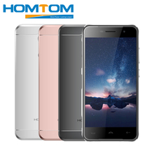 HOMTOM HT37 Mobile Phones MT6580 1.3 GHz Quad Core 16G ROM 2G RAM Android 6.0 Smartphone 5.0″ HD 13.0MP Fingerprint Cellphone