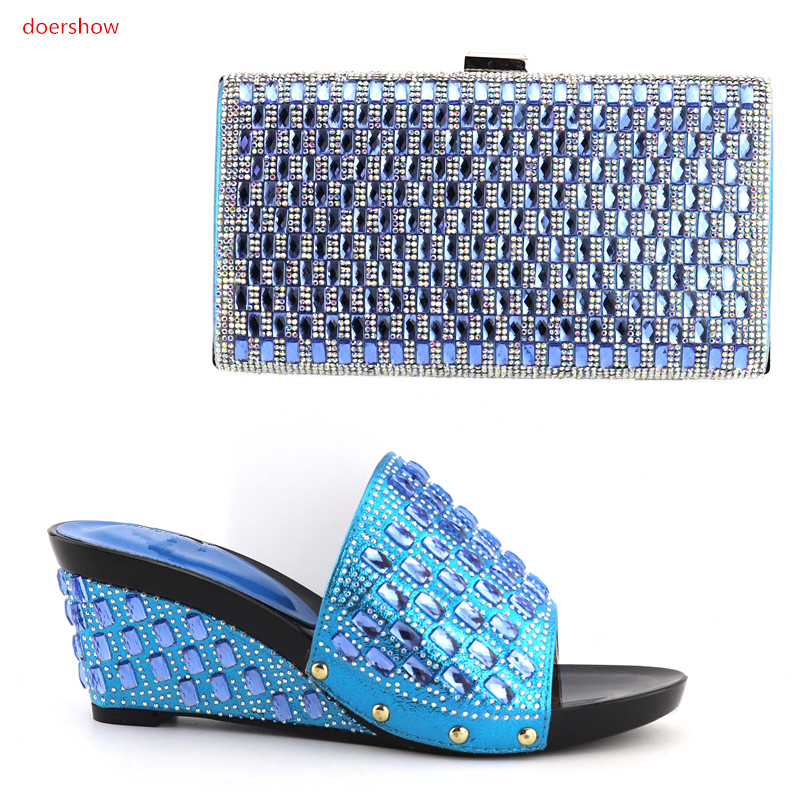 doershow New Arrival Italian Shoes and Bag Set Ladies High Quality Women Shoe and Bag To Match For Party wedding QV1-7doershow New Arrival Italian Shoes and Bag Set Ladies High Quality Women Shoe and Bag To Match For Party wedding QV1-7