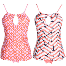 Tribal Printed Tankini Set