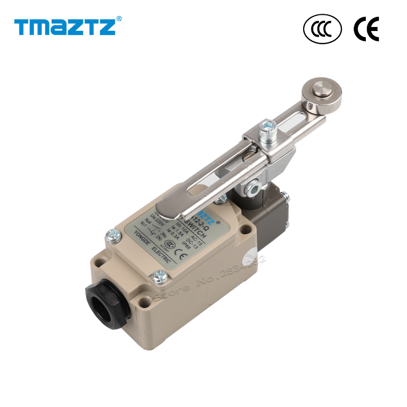 Persevering Limit Switch No Nc Double Spring Circuit Metal Roller Arm Lever Waterproof Momentary Switch Ip66 Wlca12-2-q Aluminium Alloy Strong Resistance To Heat And Hard Wearing Switches