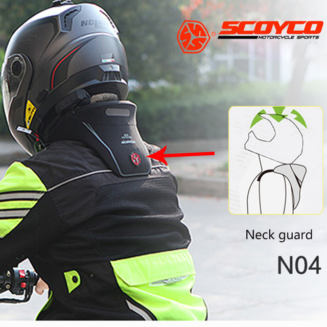 Scoyco Motorcycle Neck Brace Guard Motocross Anti Fatigue