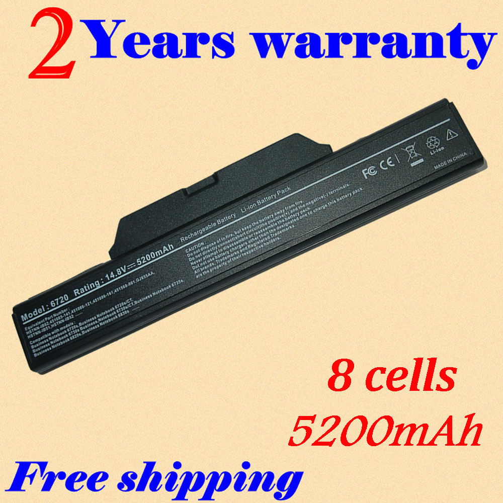 JIGU <font><b>5200MAH</b></font> For Hp Compaq 550 HSTNN-XB52 610 6820s 6830s Business Notebook 6720s 6720s/CT 6730s laptop Battery 6730s/CT 6735s image
