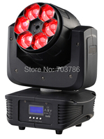 Nieuwe Collectie Diamond Zoom Led Moving Head Licht 6 Stks 15 W 4in1 Led Moving Head Beam Effect  Unieke Lens Stralingshoek DMX 15 Channel